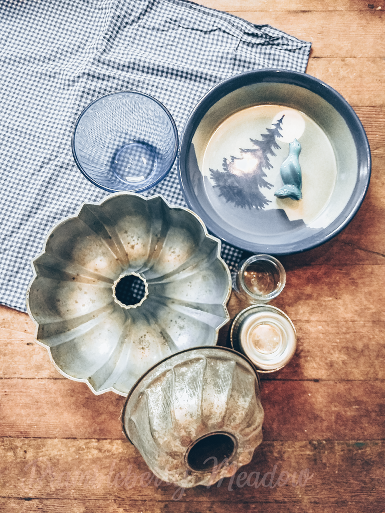 Vintage and handmade baking tools